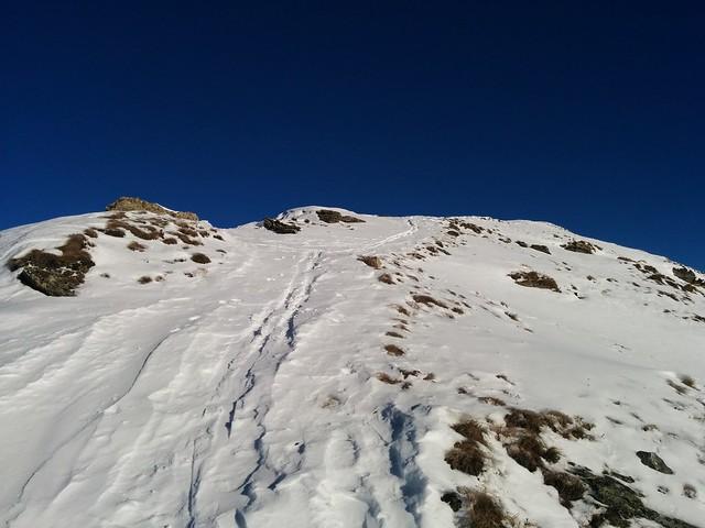Hornisch-Eck kurz vor dem Gipfel