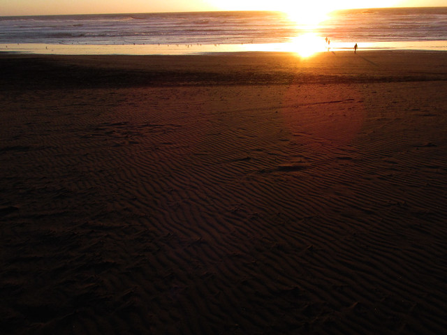 October 26, 2014 - Sunset at Ocean Beach, San Francisco