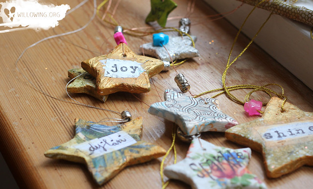 12 Artsy Ornaments of Christmas - The Stars of your Life - Willowing ...