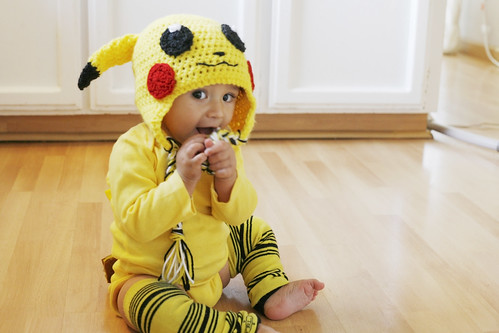 Pikachu Was A Dead Easy Costume To Piece Together It Was Comfortable For  Elias To Wear Kept Him Warm And Involved Buying Clothing Pieces That He  Could . 720dd6f7678f