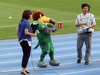 「緑の心臓」の胸スポンサー掲出に胸躍るヴェルディ君。