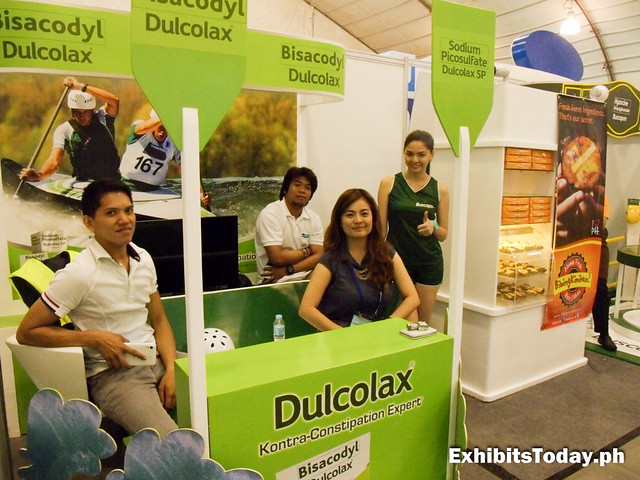 Dulcolax Exhibit Booth