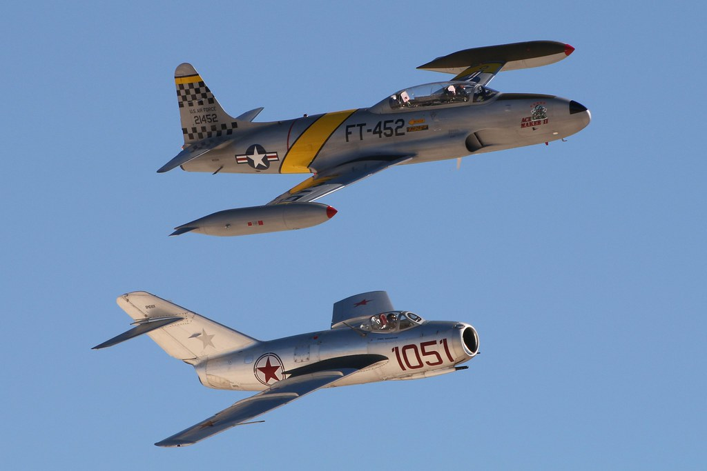 MiG-15 + T-33
