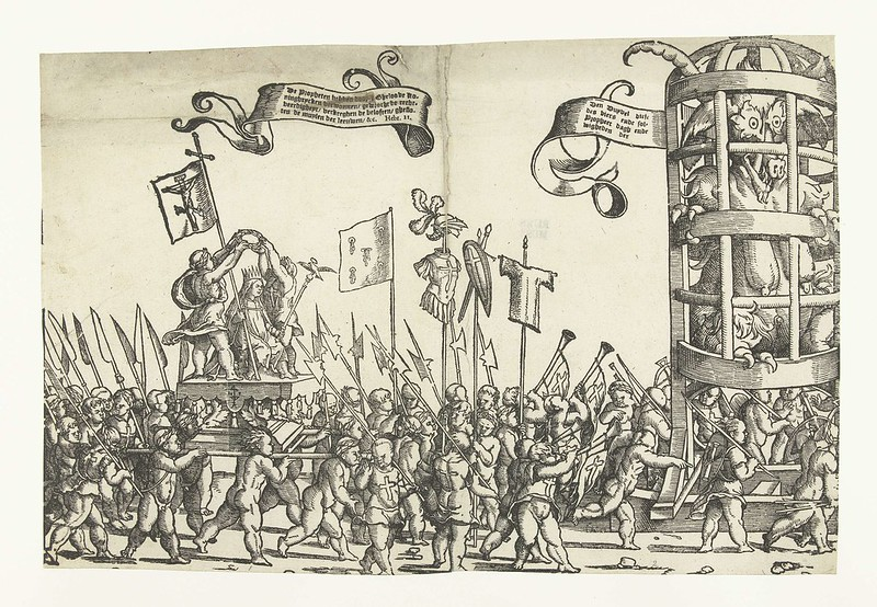 Monogrammist LIW - Children's Crusade (1) 1522 - 1532