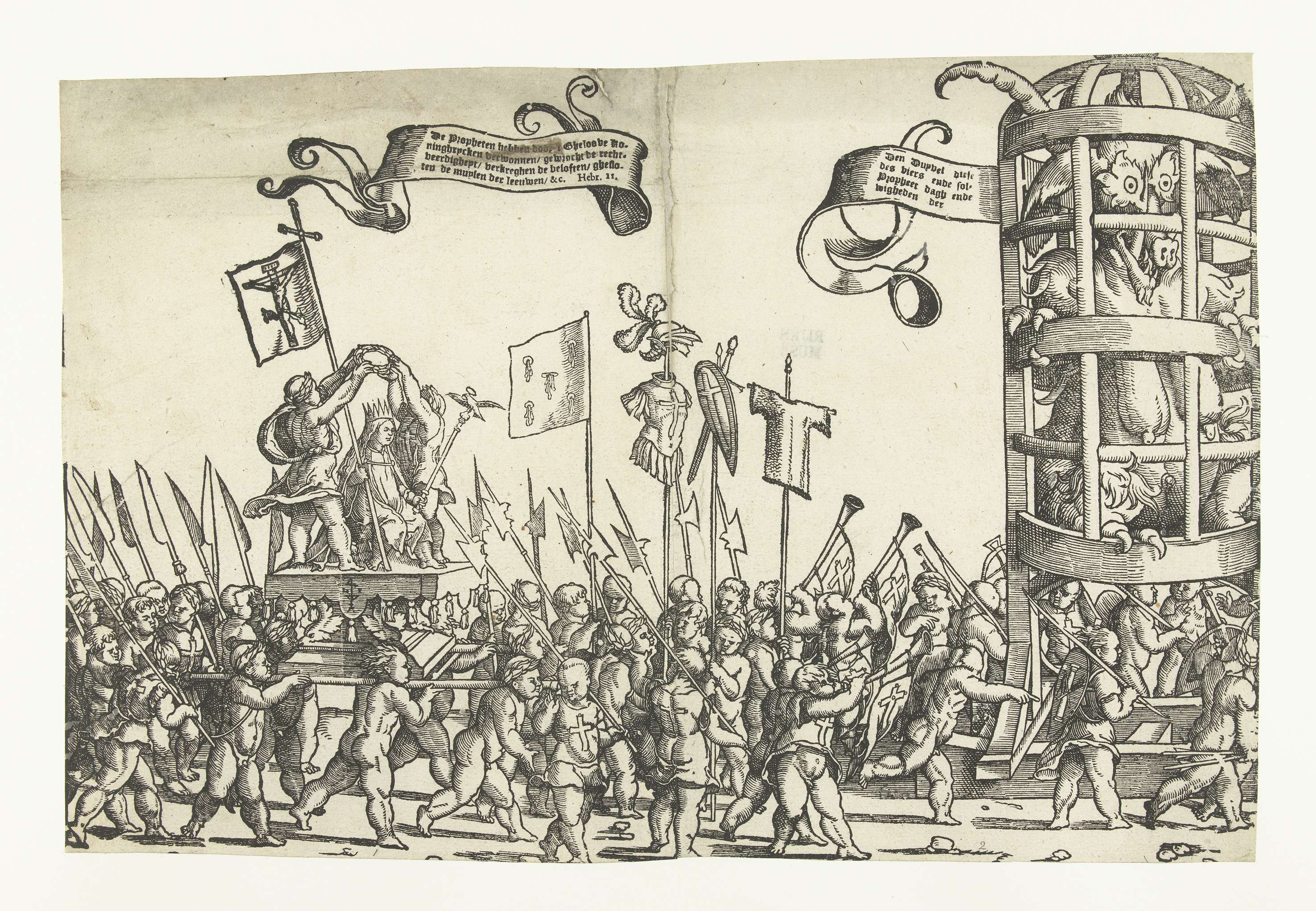 Monogrammist LIW - Children's Crusade (1) 1522 - 1532 ...