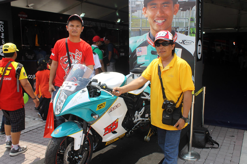 Tour MotoGP Sepang 2014 Bersama BTrav International Group