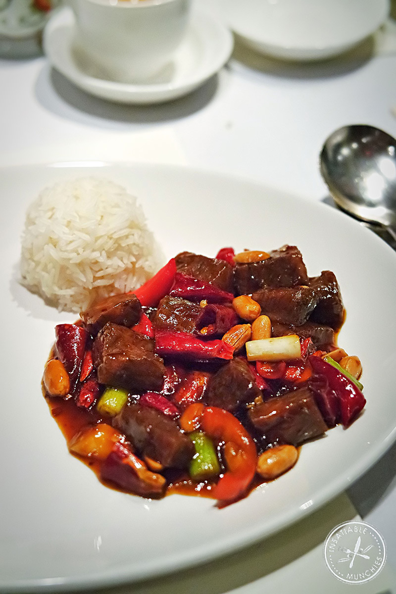 Kung Pao Braised Wagyu Beef with Rice