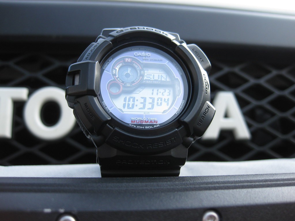 casio g shock tough solar manual
