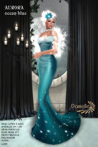 DANIELLE Aurora Ocean Blue