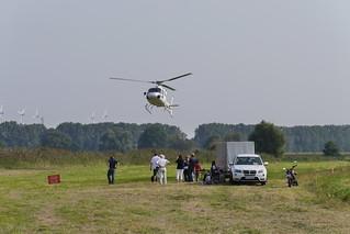 Hubschrauber im Landeanflug #2