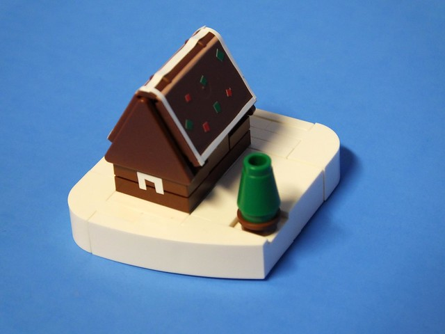 Micro Gingerbread House