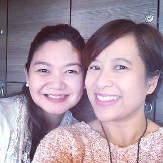 Blissmaker Maricel and I