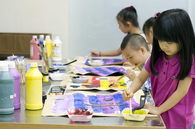 跟著保羅克利的節奏 - Photo 27 - 小保羅畫畫工作坊(台北市立美術館提供)