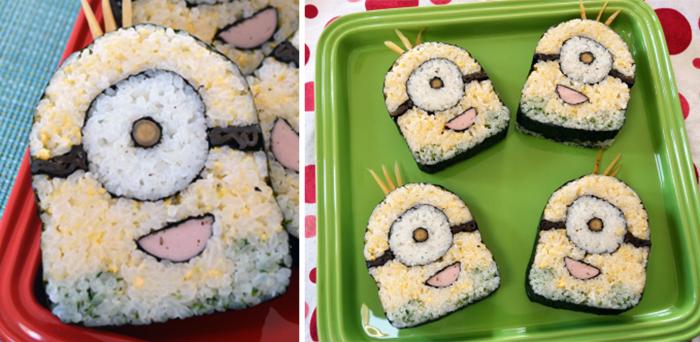 Những mẫu sushi đẹp ngất ngây không nỡ ăn