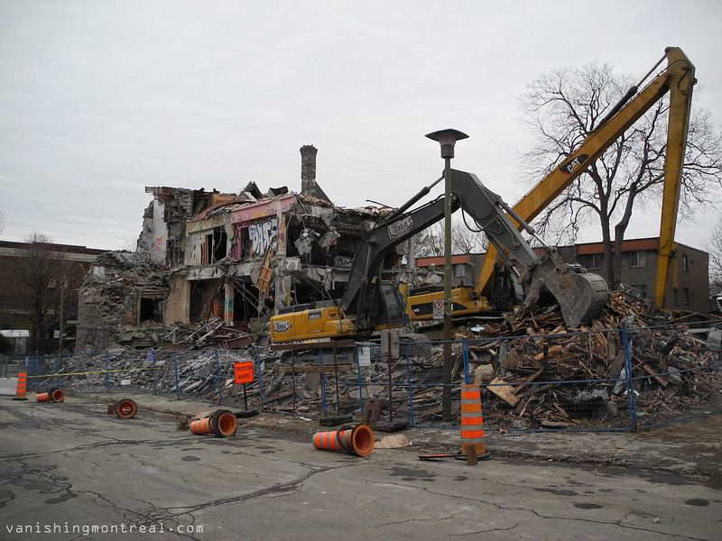 Demolition of NCC 8
