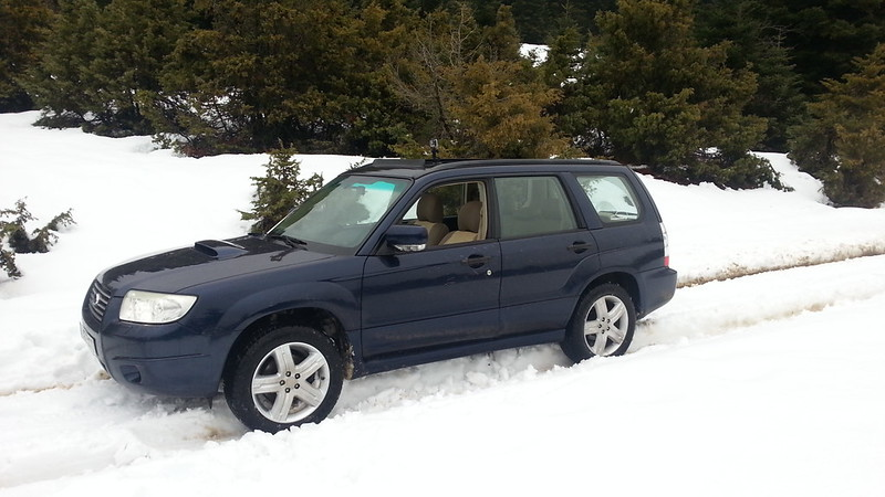 FORESTER MOD TO STI FROM GREECE-ATHENS