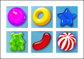 free Sweet Party slot game symbols