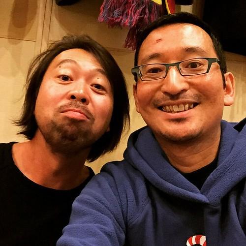 なんとMiseluの吉川さんがオーシャンブリッジの忘年会に合流!