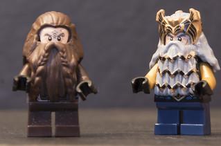 modmoc hobbit characters lego historic themes