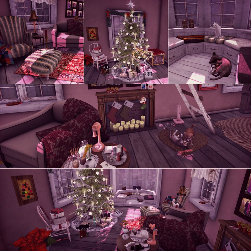 holiday house tour - living room