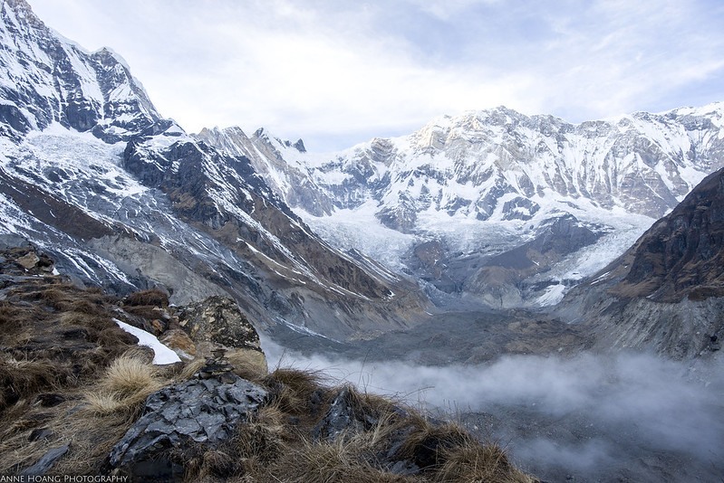 Annapurna Base Camp mountain range