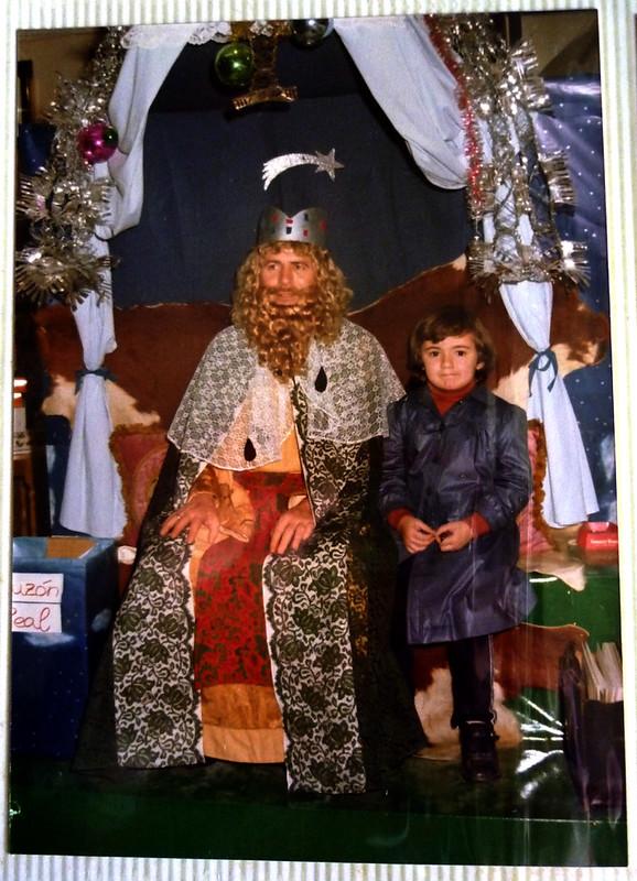 Susana, con un rey mago