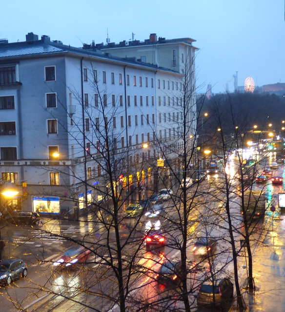 A rainy day in December