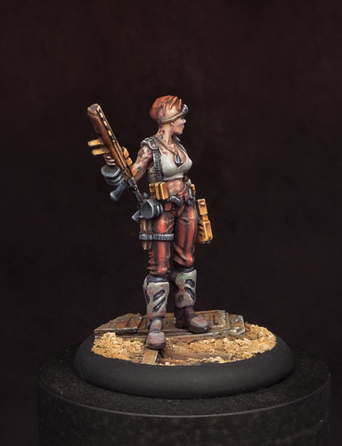 "Cynthia ""Headshot"" Bane Miniature"