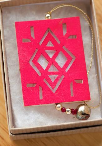 Shadow Ornament Kit from Helen Hiebert