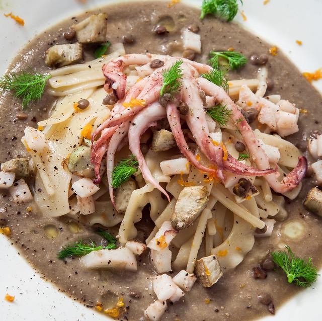 lenticchie calamari