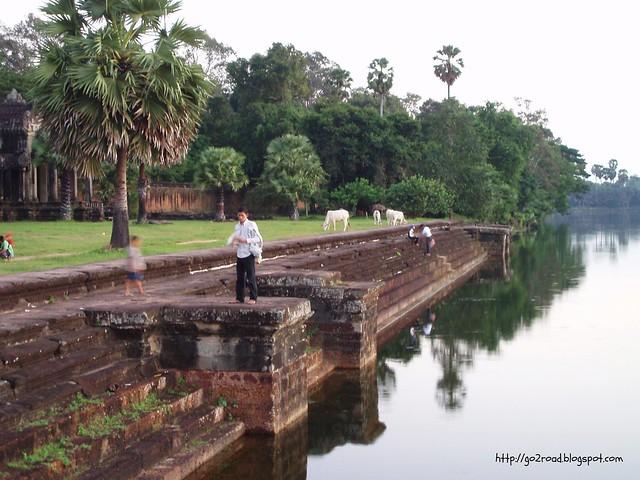 Защитные каналы Ангкор Вата