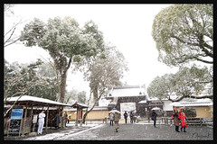 日本京都-金閣寺-雪.09