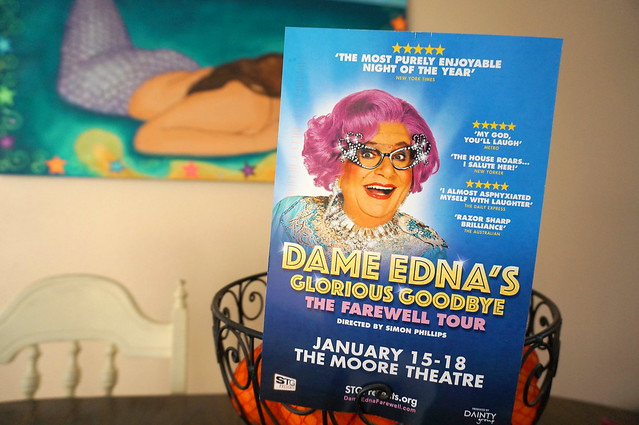 Dame Edna is coming to Seattle