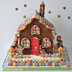 Handmade chocolate house 1