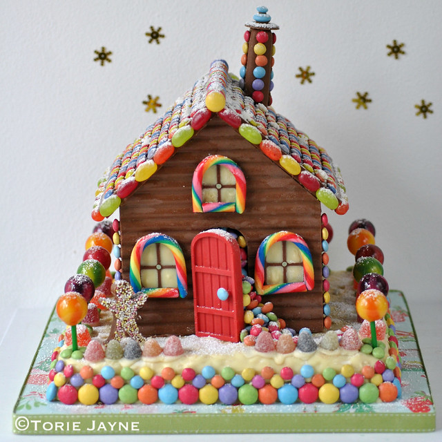 Handmade chocolate house 1