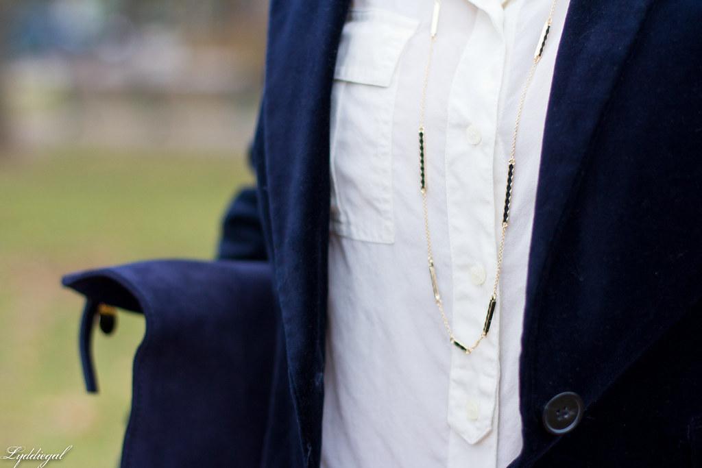 velvet blazer, flared jeans, white blouse-5.jpg