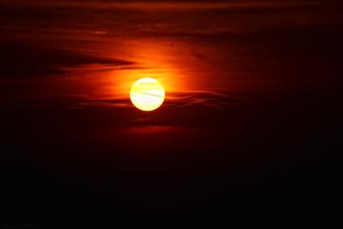 sunset red sky india clouds twilight effect goldenhour kapu