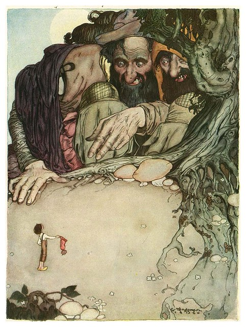 006-Grimm's Fairytale Treasure-1923- Illust. Gustaf Tenggren-via Animation Resources