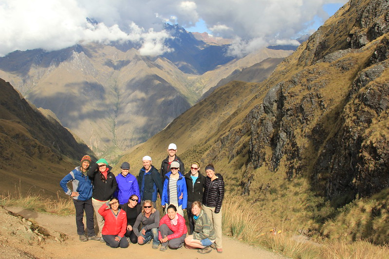 Group shot, Dead Woman's Pass
