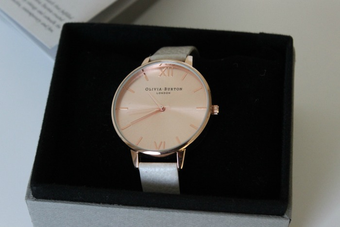 Olivia Burton Rose Gold Mink Watch