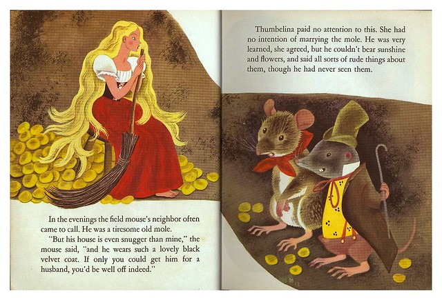 011-Tenggren's Thumbelina-Illustrated Gustaf Tenggren-Copyright 1953-via goldengems.blogspot