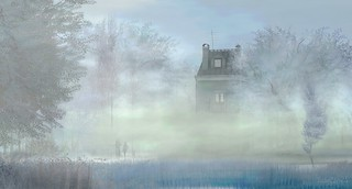 House in the Mist. Photo by Tizzy Canucci on Flickr
