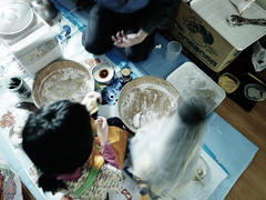 Rice-cake making