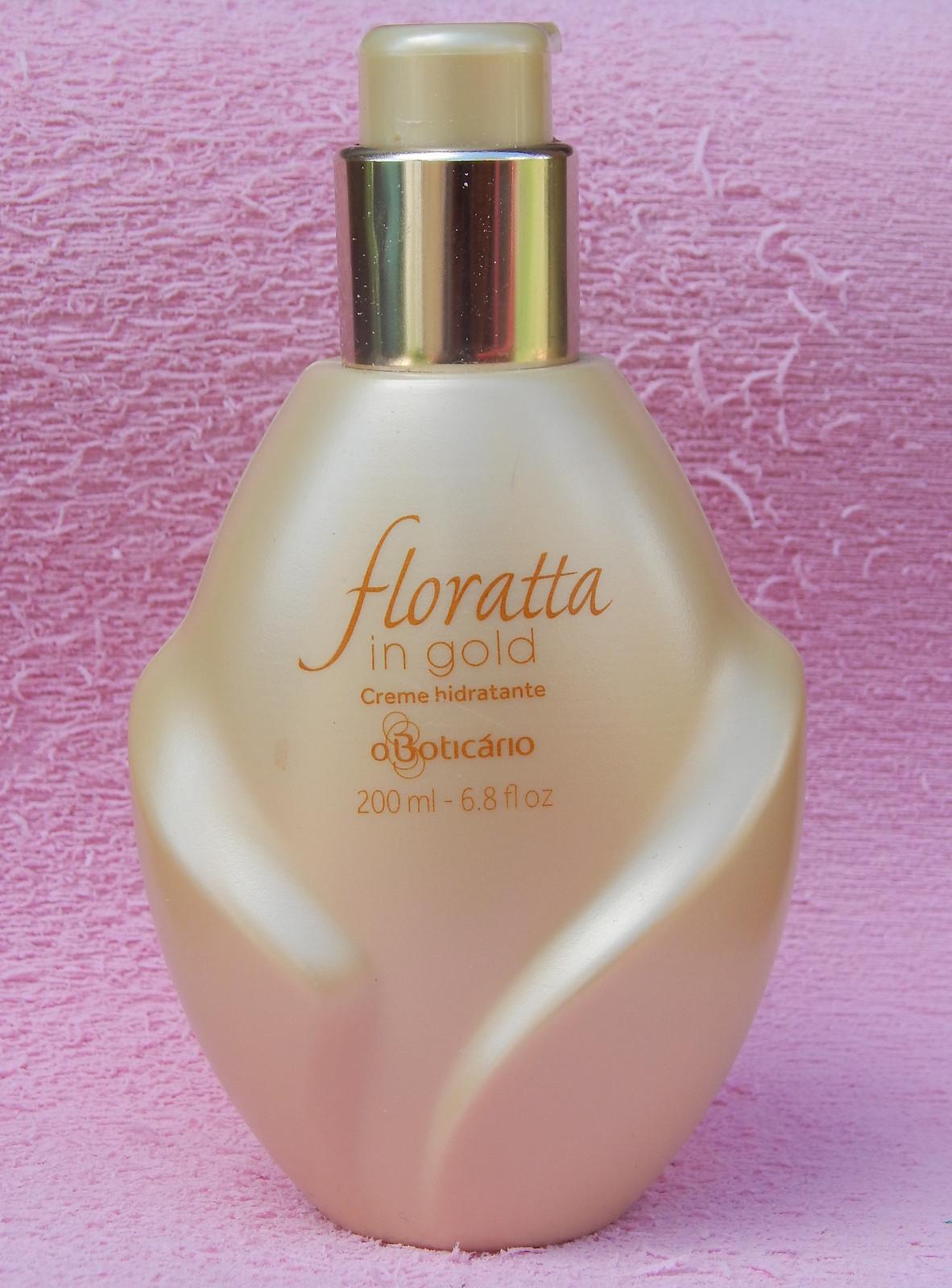 Creme  hidratante Floratta in Gold O Boticário