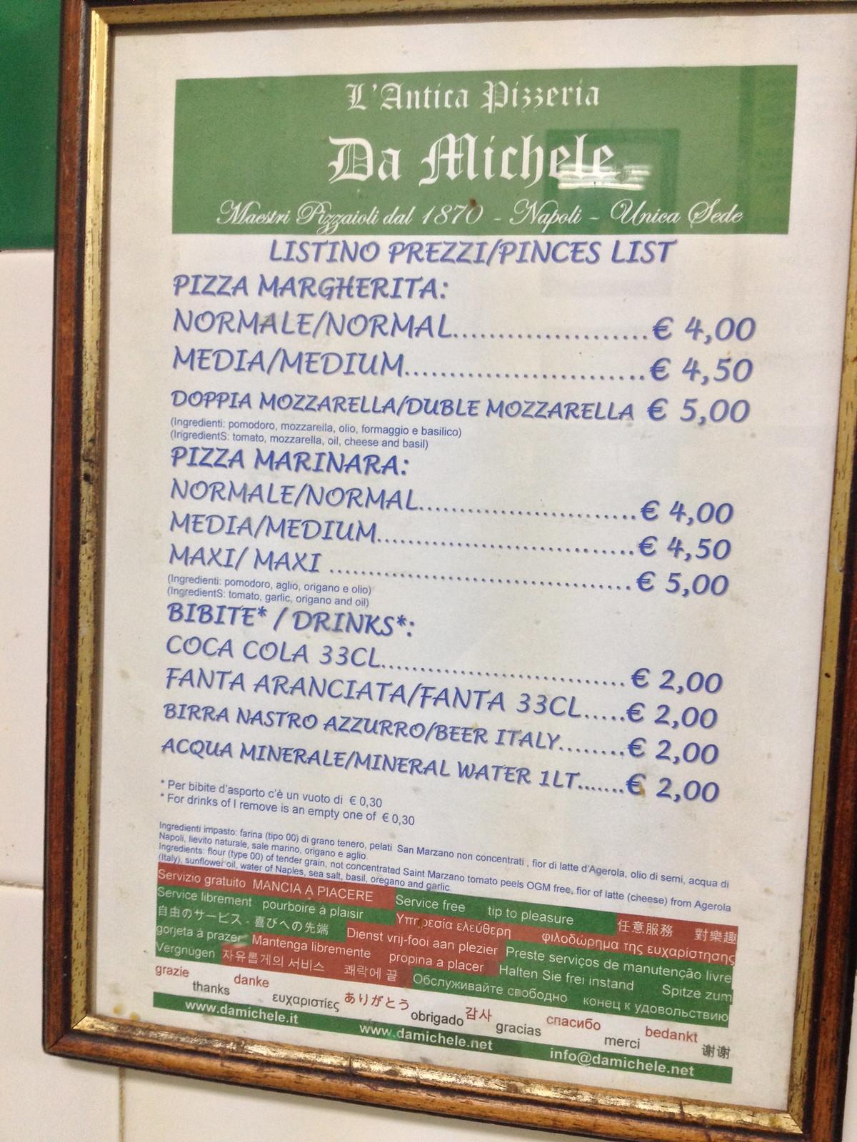 Naples: Food Diary 5.2