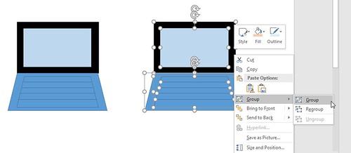 ลองทำไอคอนรูป Microsoft Surface ด้วย PowerPoint ดู