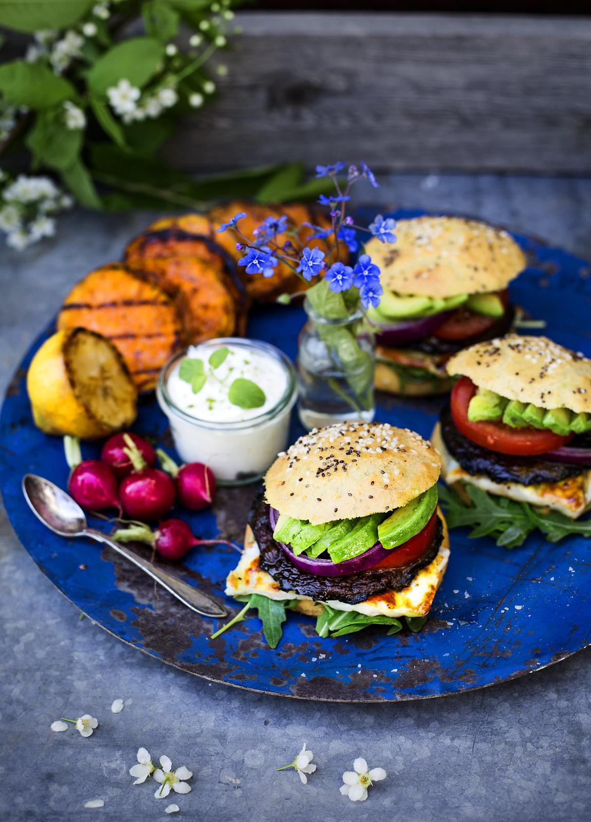 Recept glutenfritt hamburgerbröd - Evelinas Ekologiska
