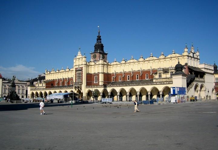 Plaza del mercado de Cracovia