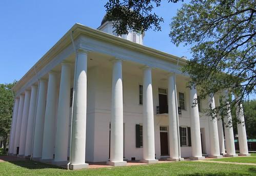 la louisiana clinton courthouses uscclaeastfeliciana eastfelicianaparish floridaparishes parishcourthouses