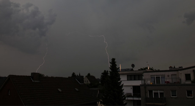 Thunderstorm above Geilenkirchen, 07th of June 2016, 17:00h until 17:45h, Explored # 431, 08th of June 16